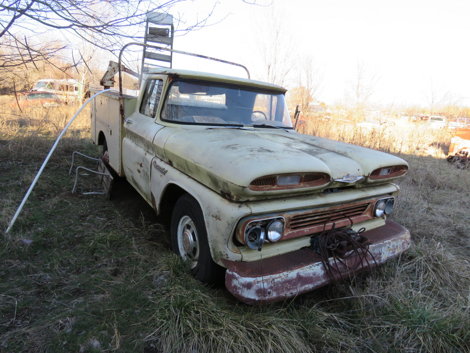 Chevrolet Pickup with Utility Box - Image 2
