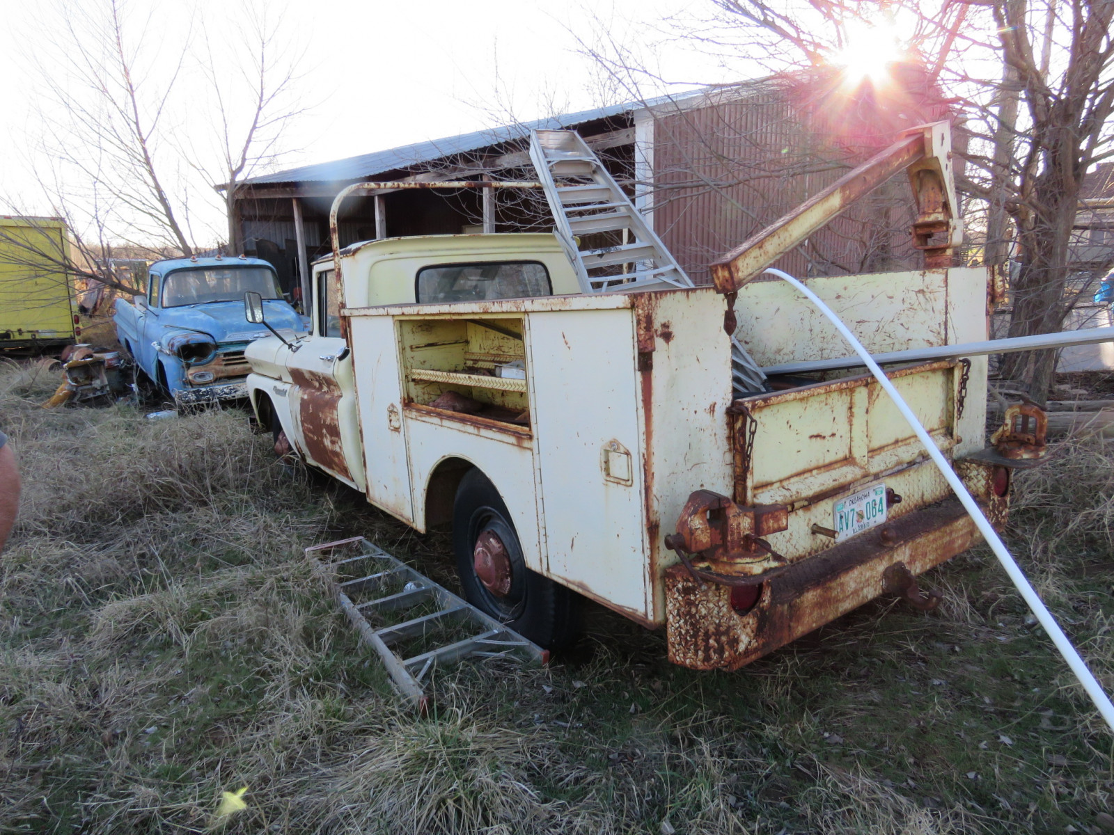 Chevrolet Pickup with Utility Box - Image 3