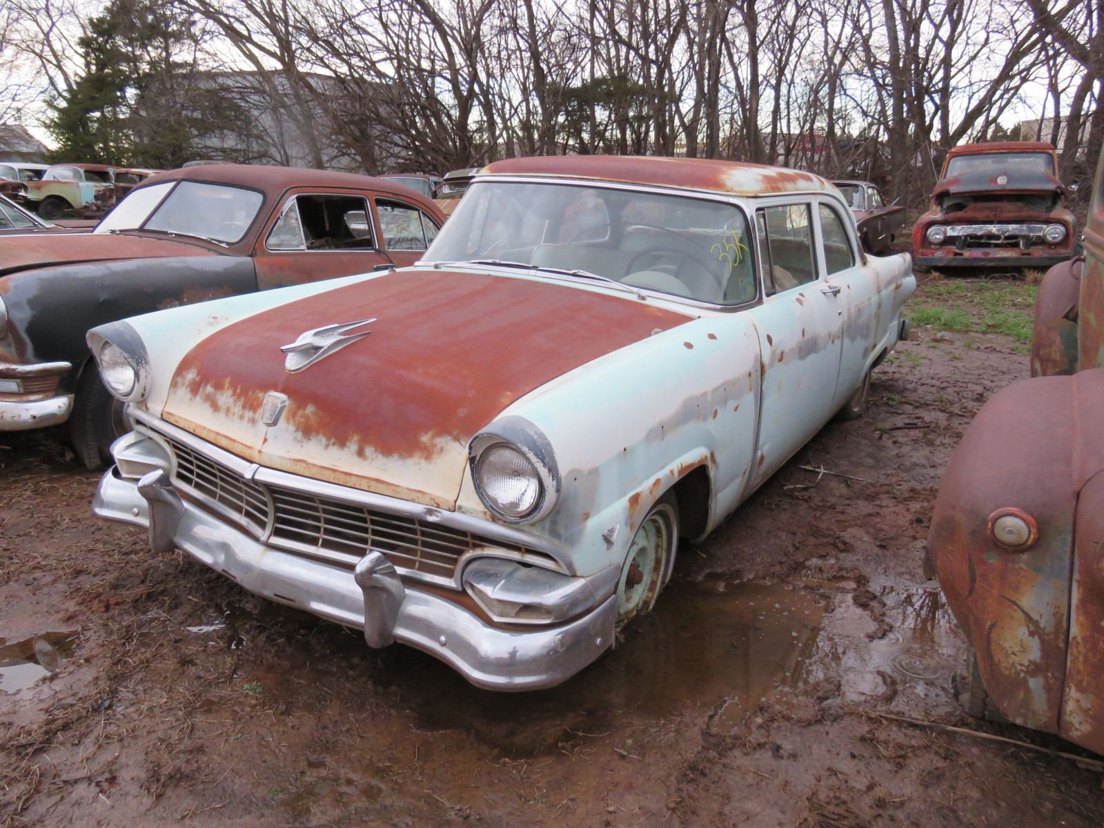 1956 Ford Mainline 2dr Post - Image 1