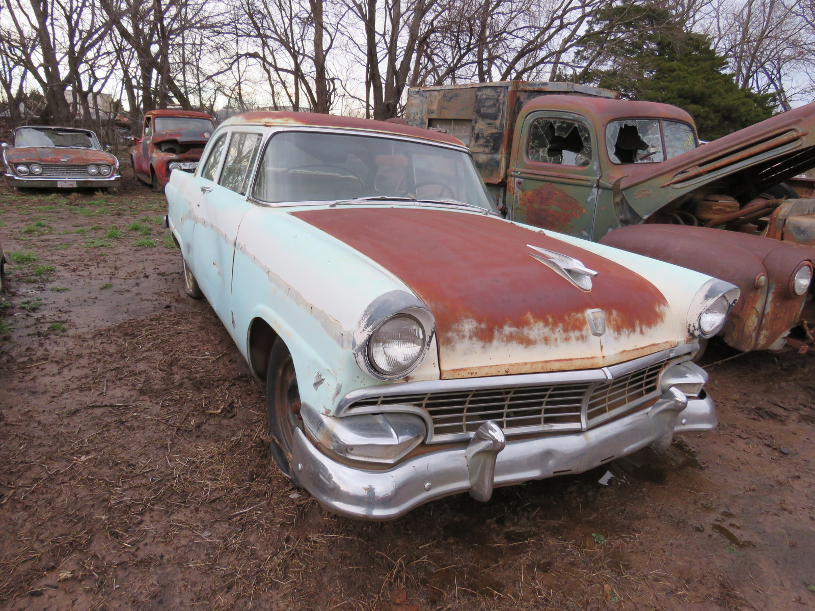 1956 Ford Mainline 2dr Post - Image 2