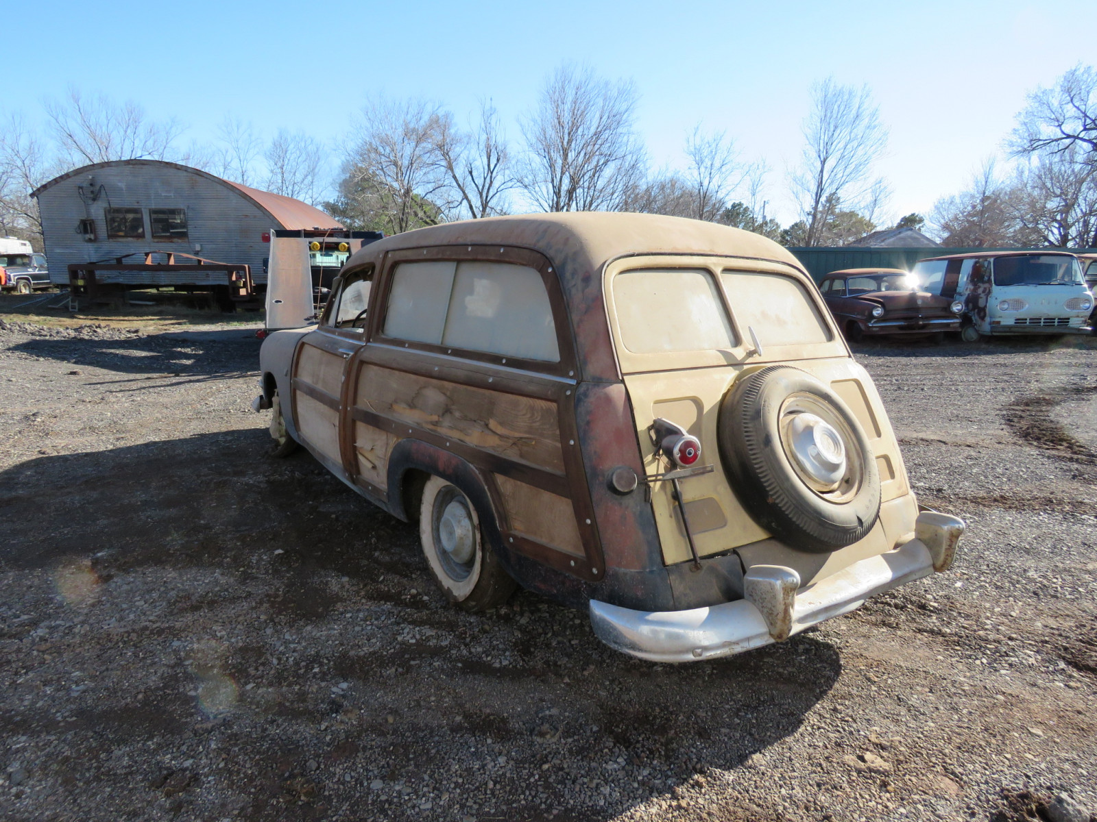 1950 Ford 2dr Woody Wagon - Image 3