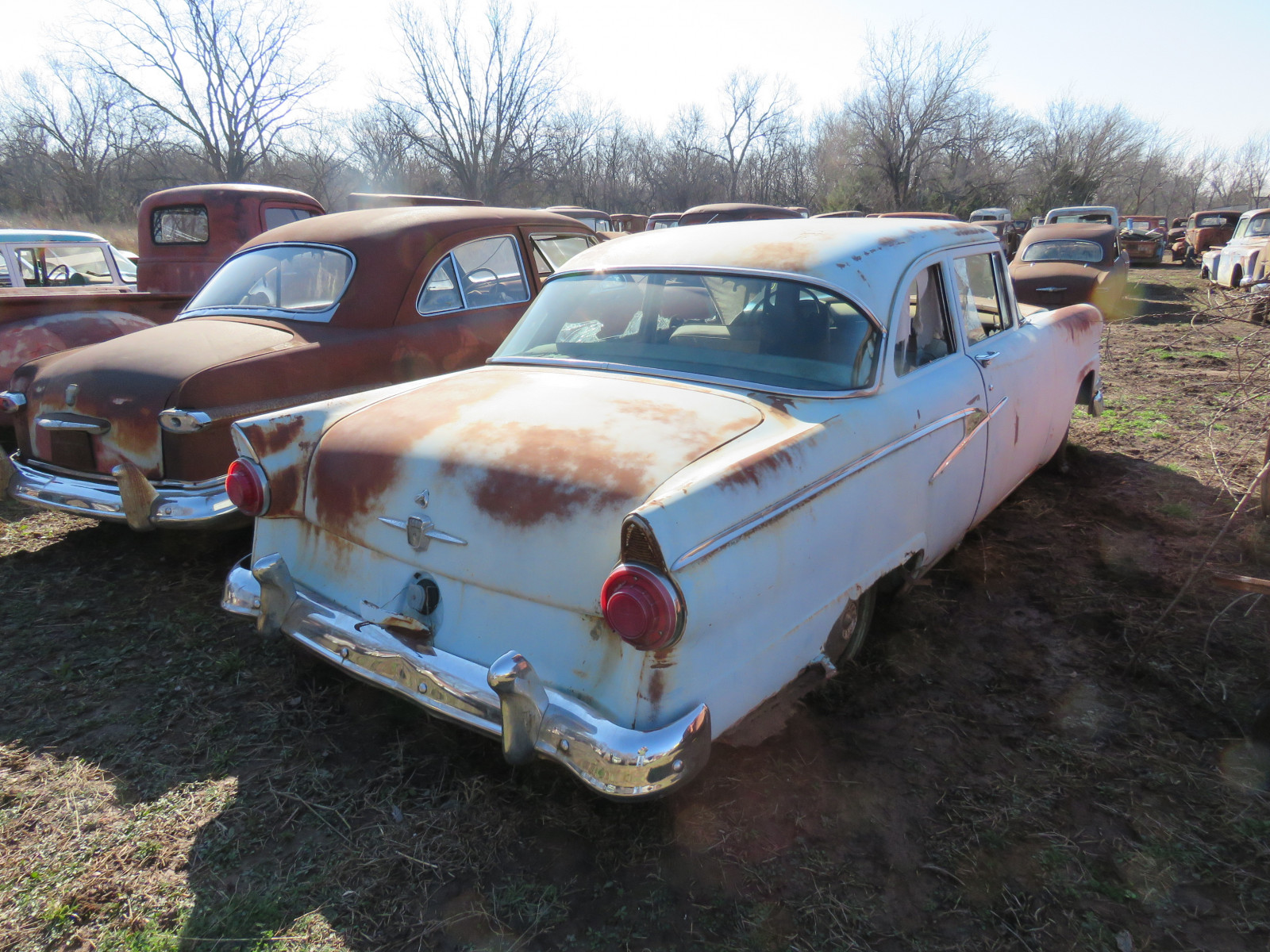 1956 Ford 2dr Post - Image 3
