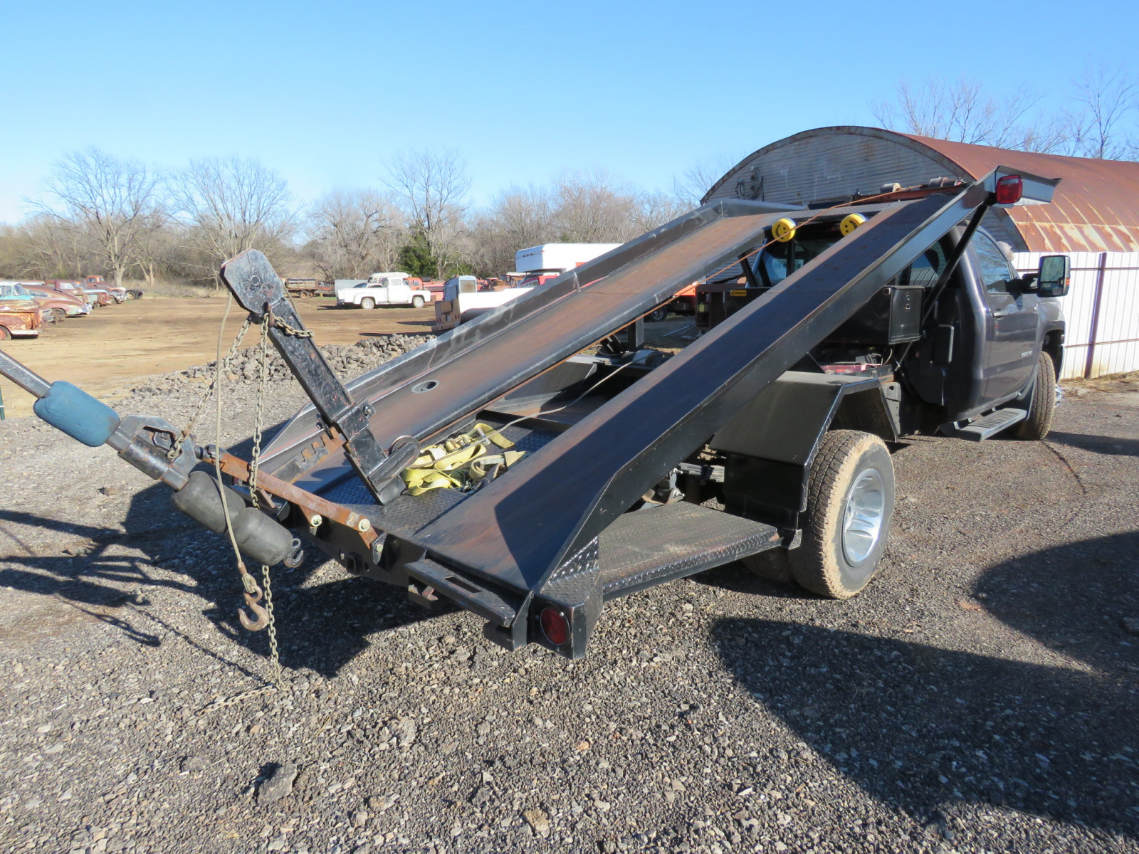 2016 Chevrolet 3500HD Ramp Car Hauler - Image 6