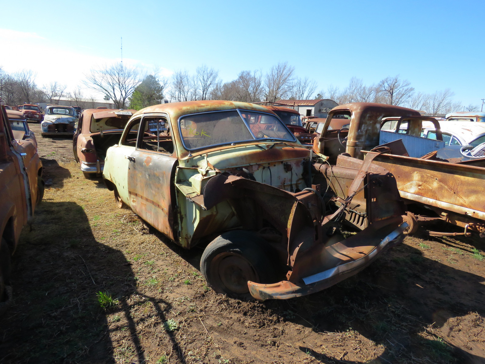 1949 Ford 2dr Sedan for parts - Image 1