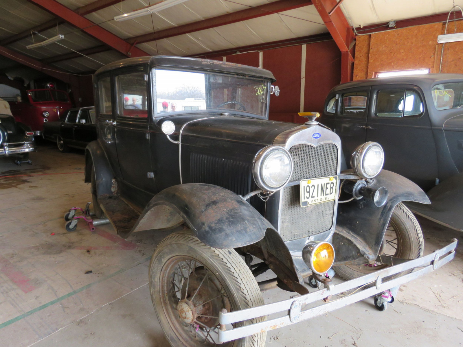 1930 Ford Model A Deluxe 4dr Sedan - Image 3