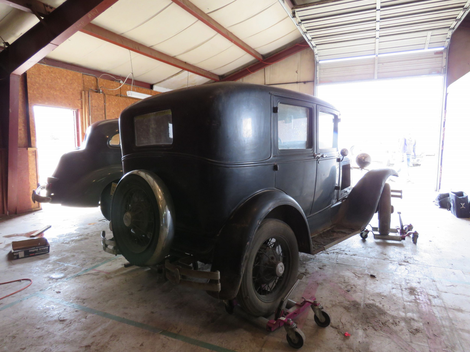 1930 Ford Model A Deluxe 4dr Sedan - Image 4