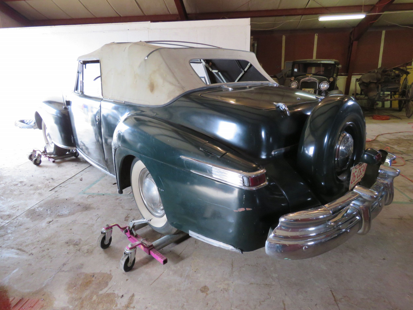 1947 Lincoln Continental Convertible - Image 7