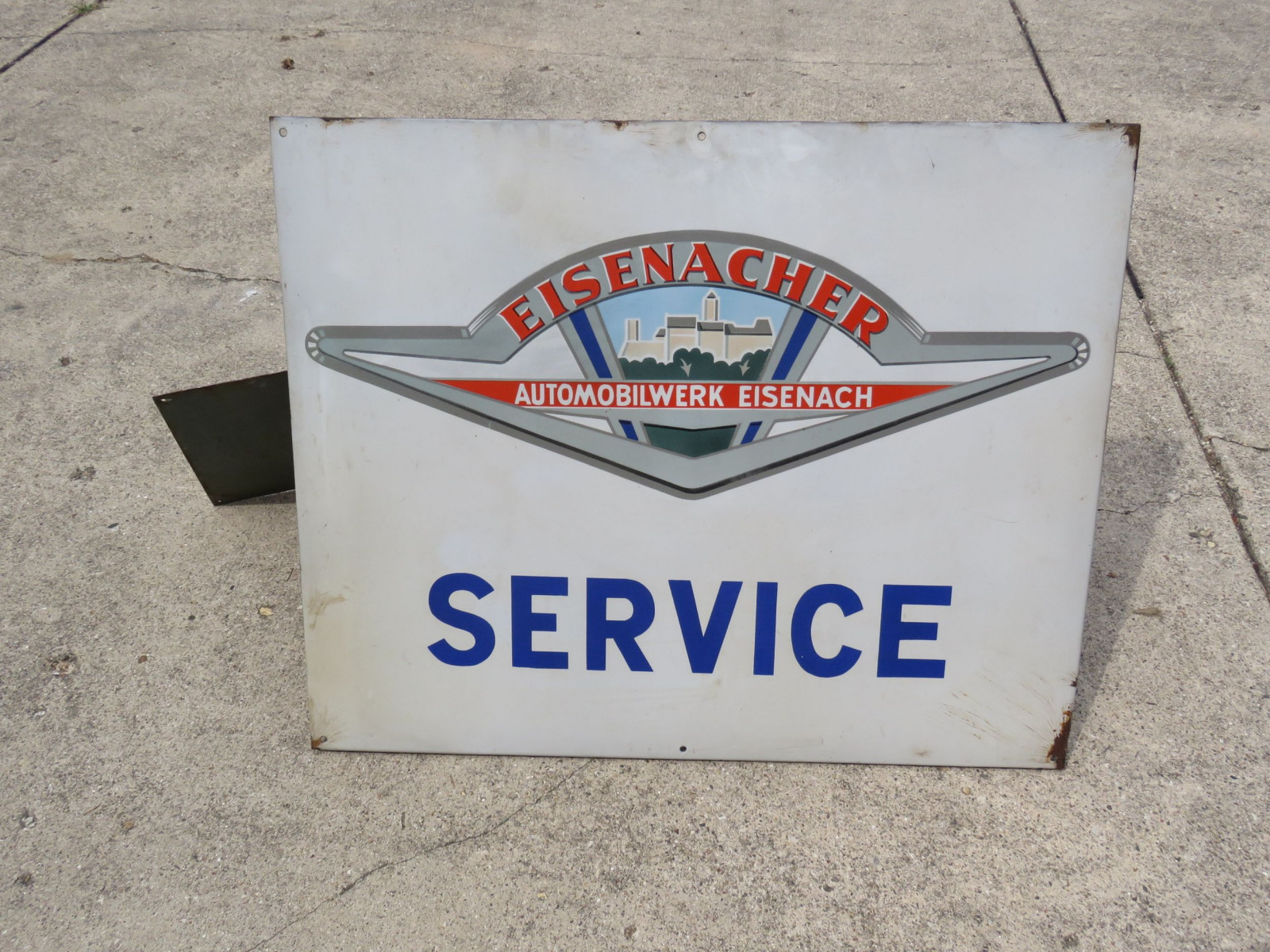 Eisenacher Service Porcelain Sign - Image 1