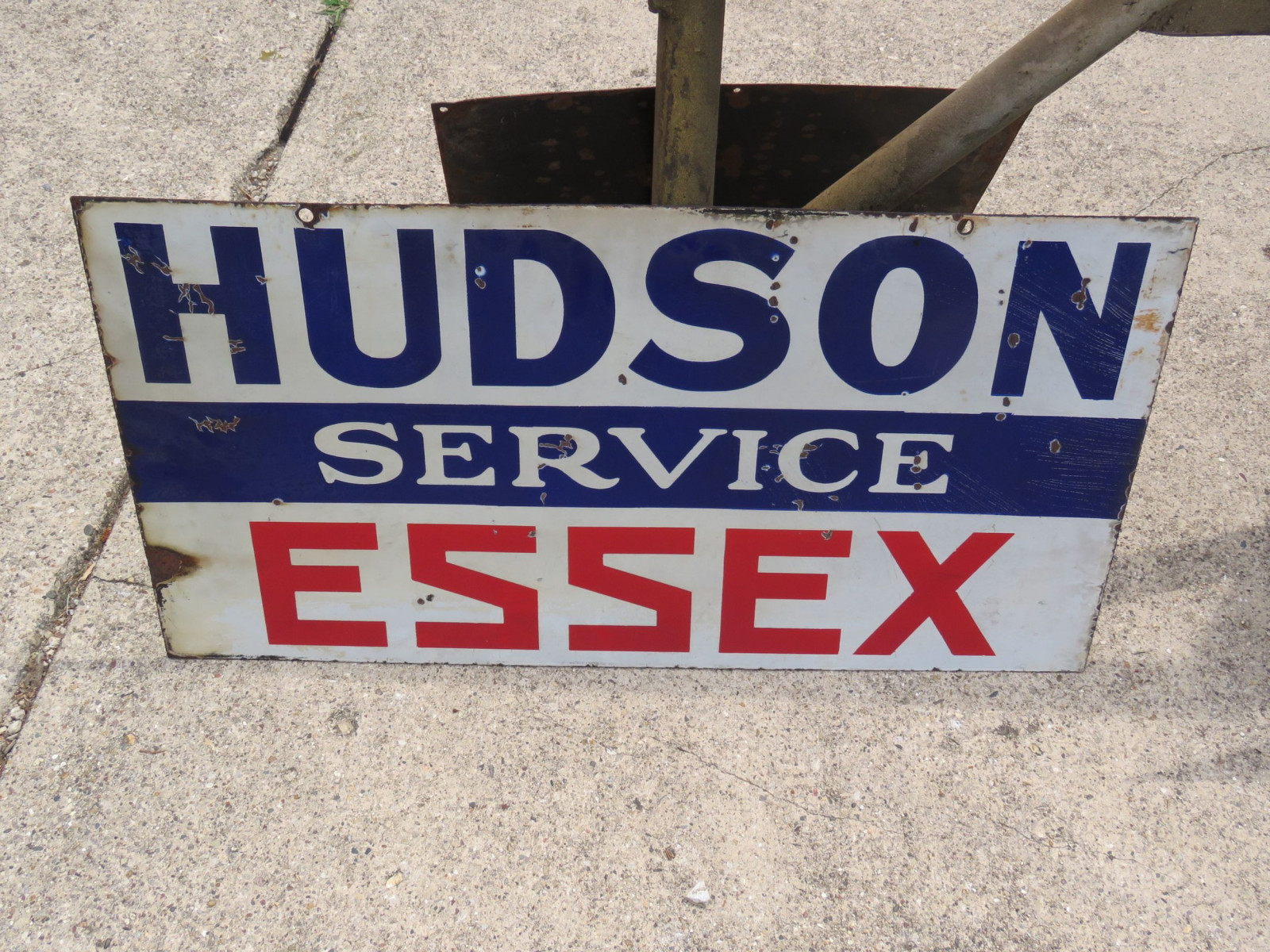 Hudson-Essex Porcelain Sign - Image 2
