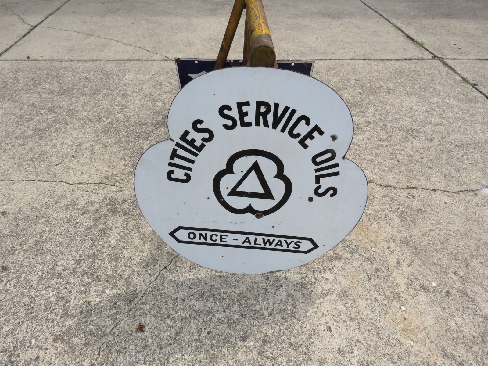 Cities Service DS Porcelain Sign - Image 1