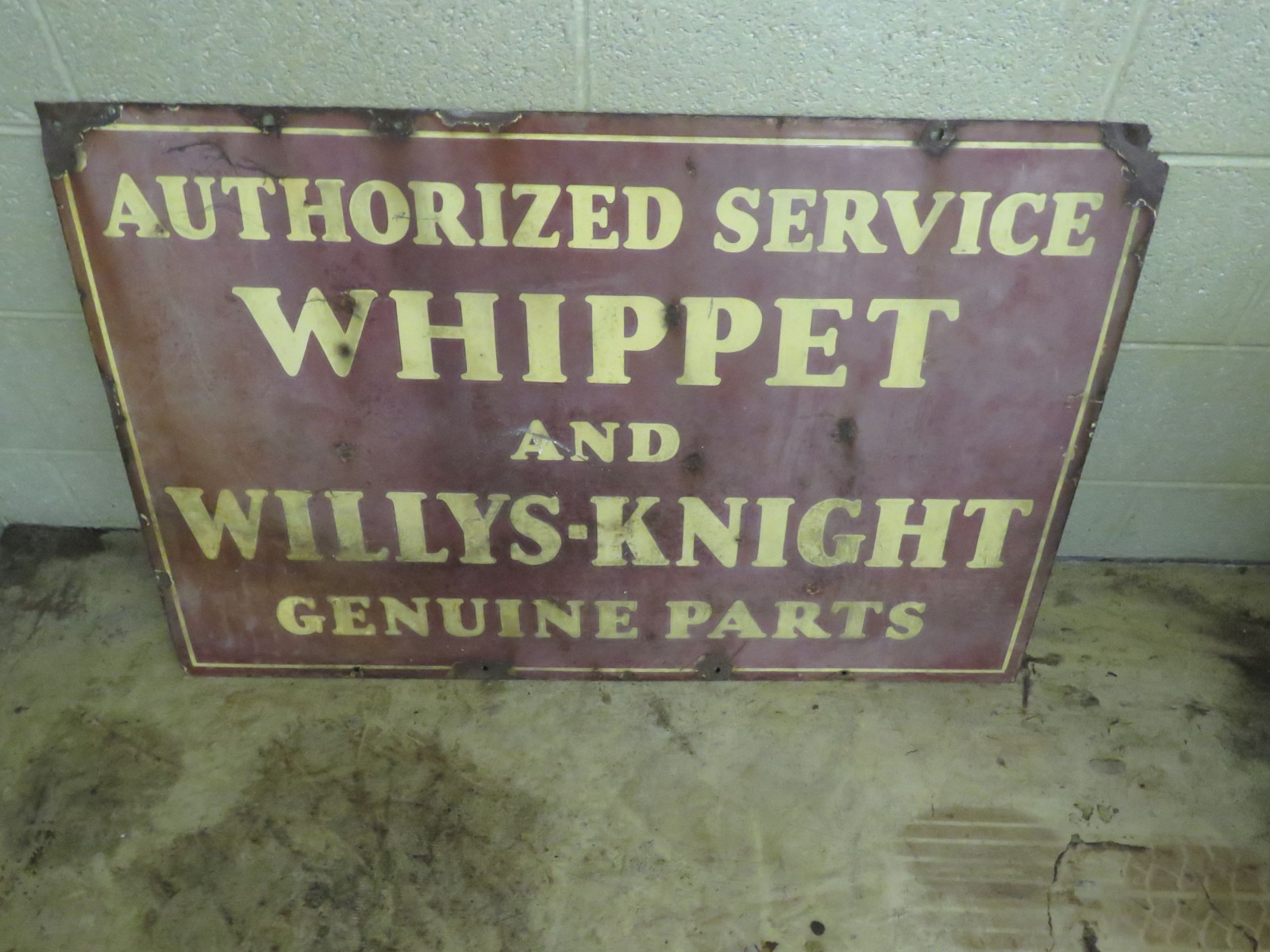 Whippett DS Porcelain Sign - Image 2