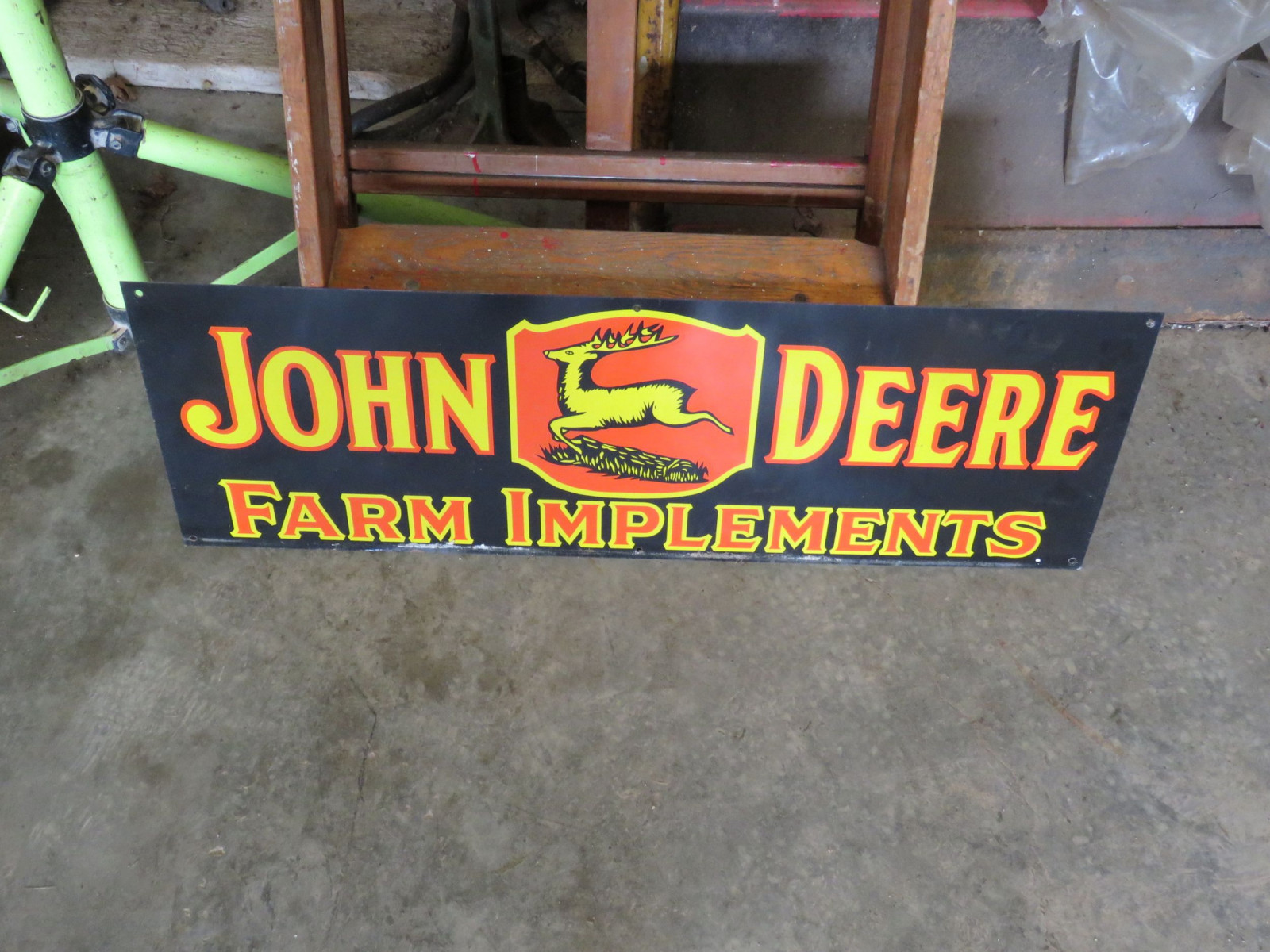 Reproduction John Deere Sign - Image 1