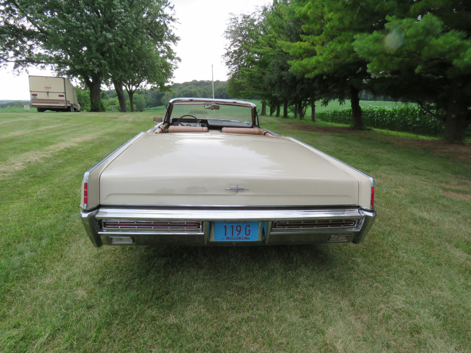 1967 Lincoln Continental 4dr Suicide Convertible - Image 8