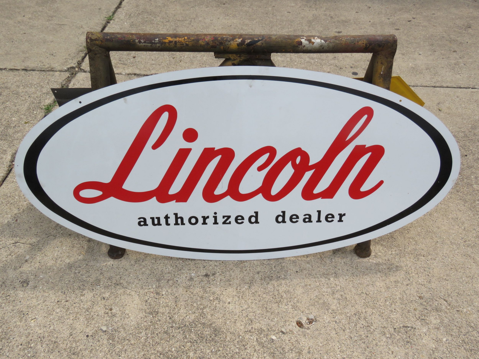 Lincoln Service painted Tin Sign - Image 1