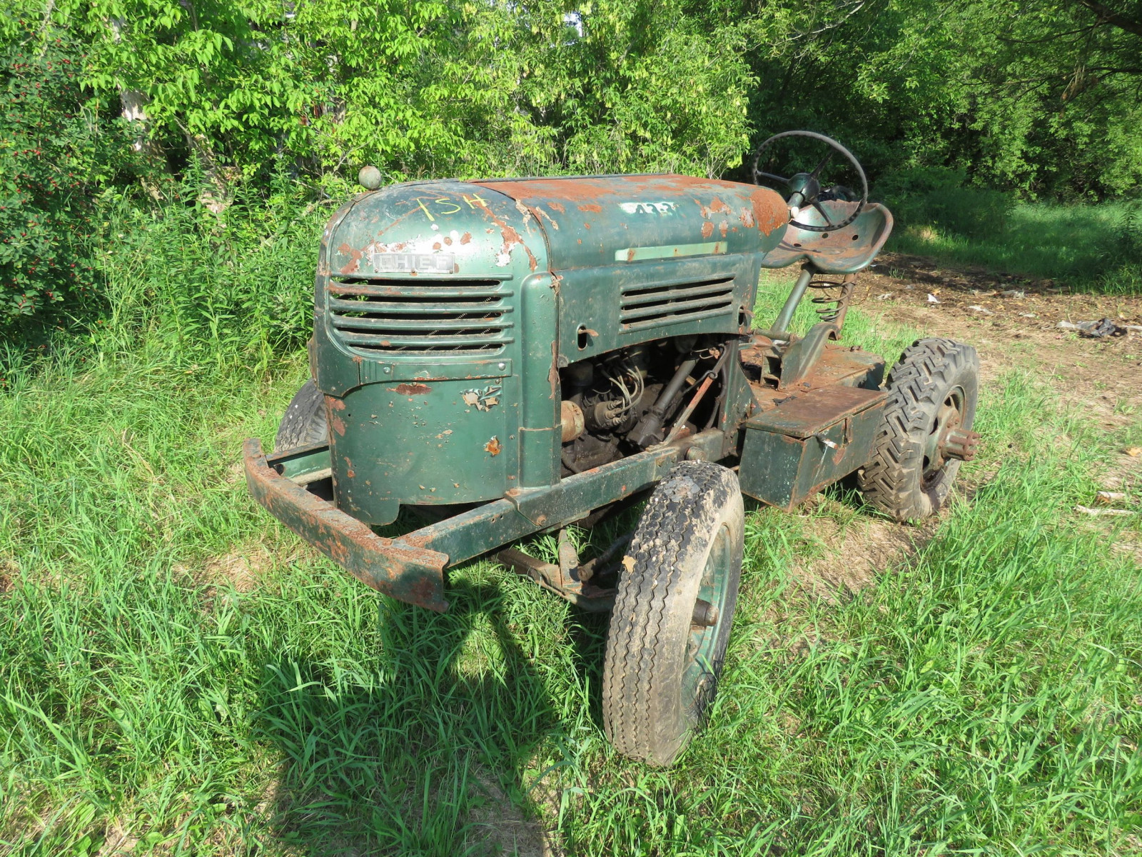 Worthington Mower Chief Lawn Tractor - Image 1
