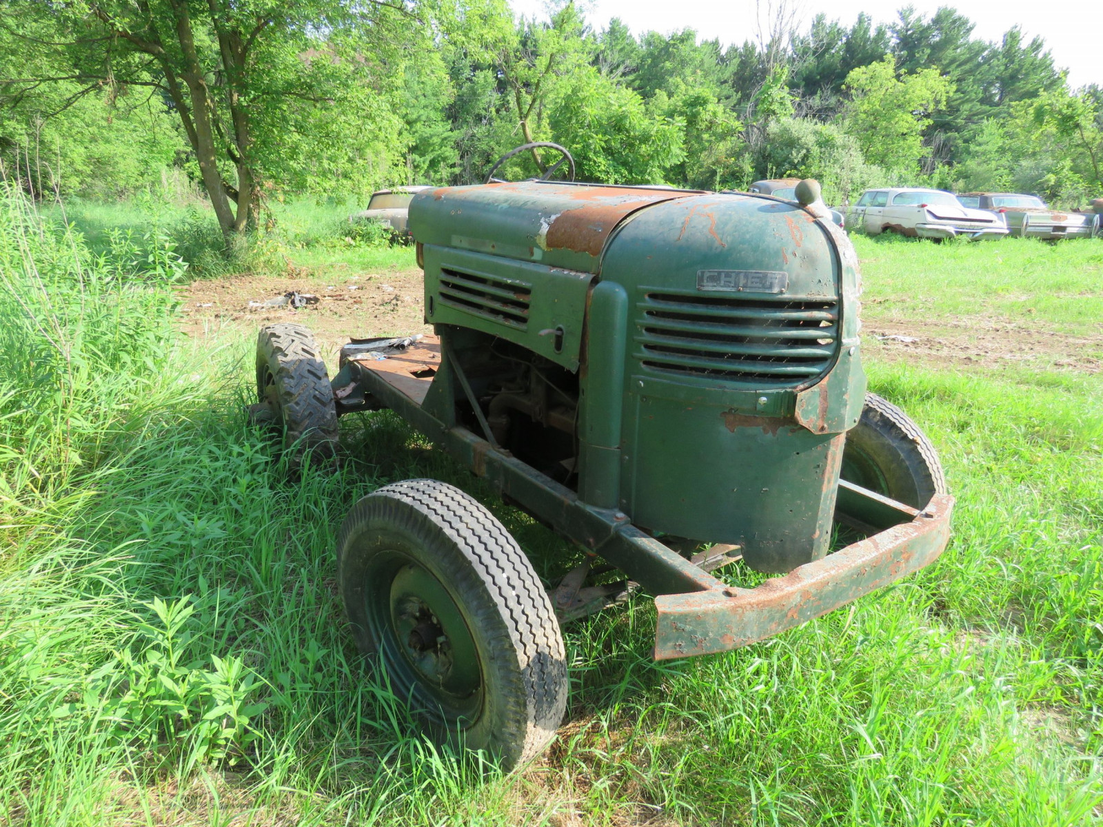 Worthington Mower Chief Lawn Tractor - Image 2