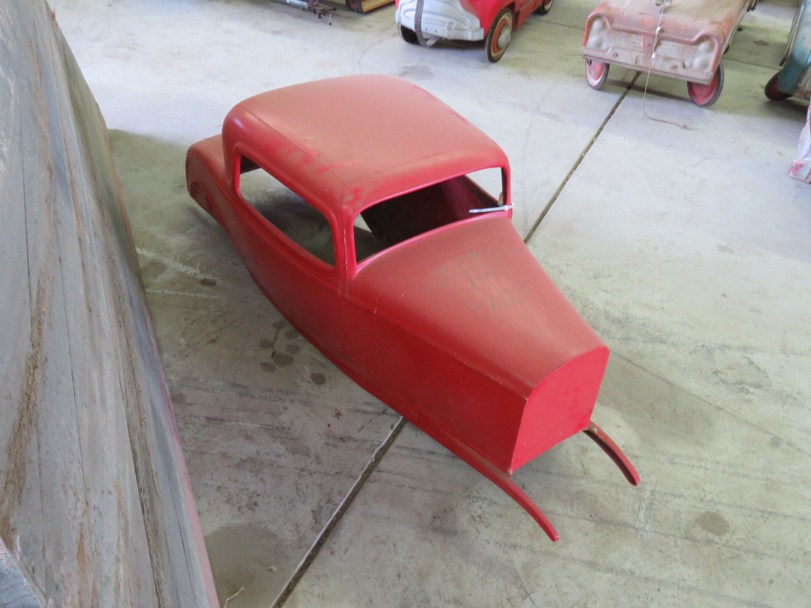 Fiberglass 1932 Ford Coupe Body for Pedal Car - Image 2