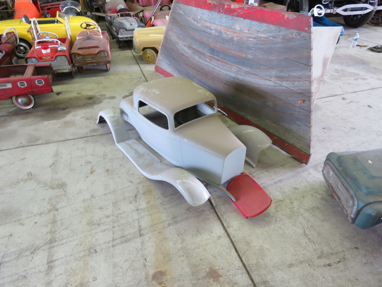 1932 Ford Coupe Fiberglass Body for Project Pedal Car - Image 1