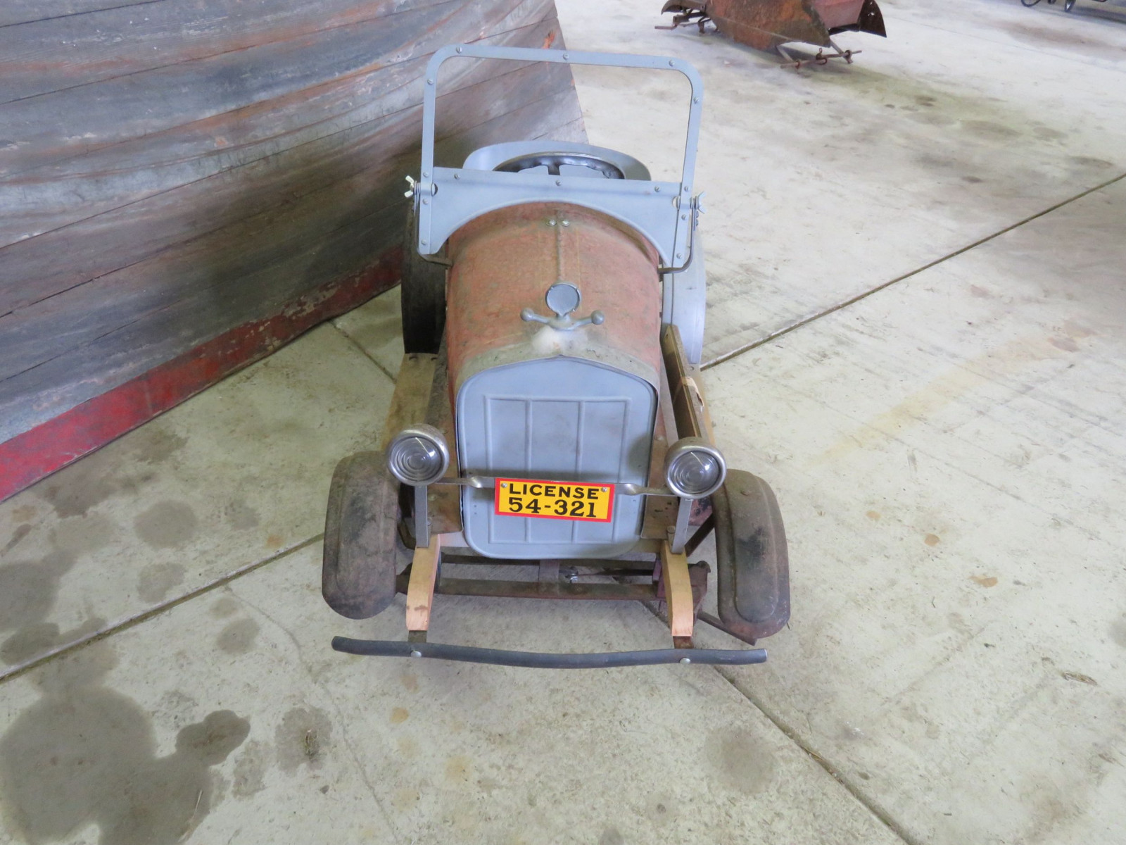 Rare SteelCraft Fire chief Pedal Car Project - Image 2