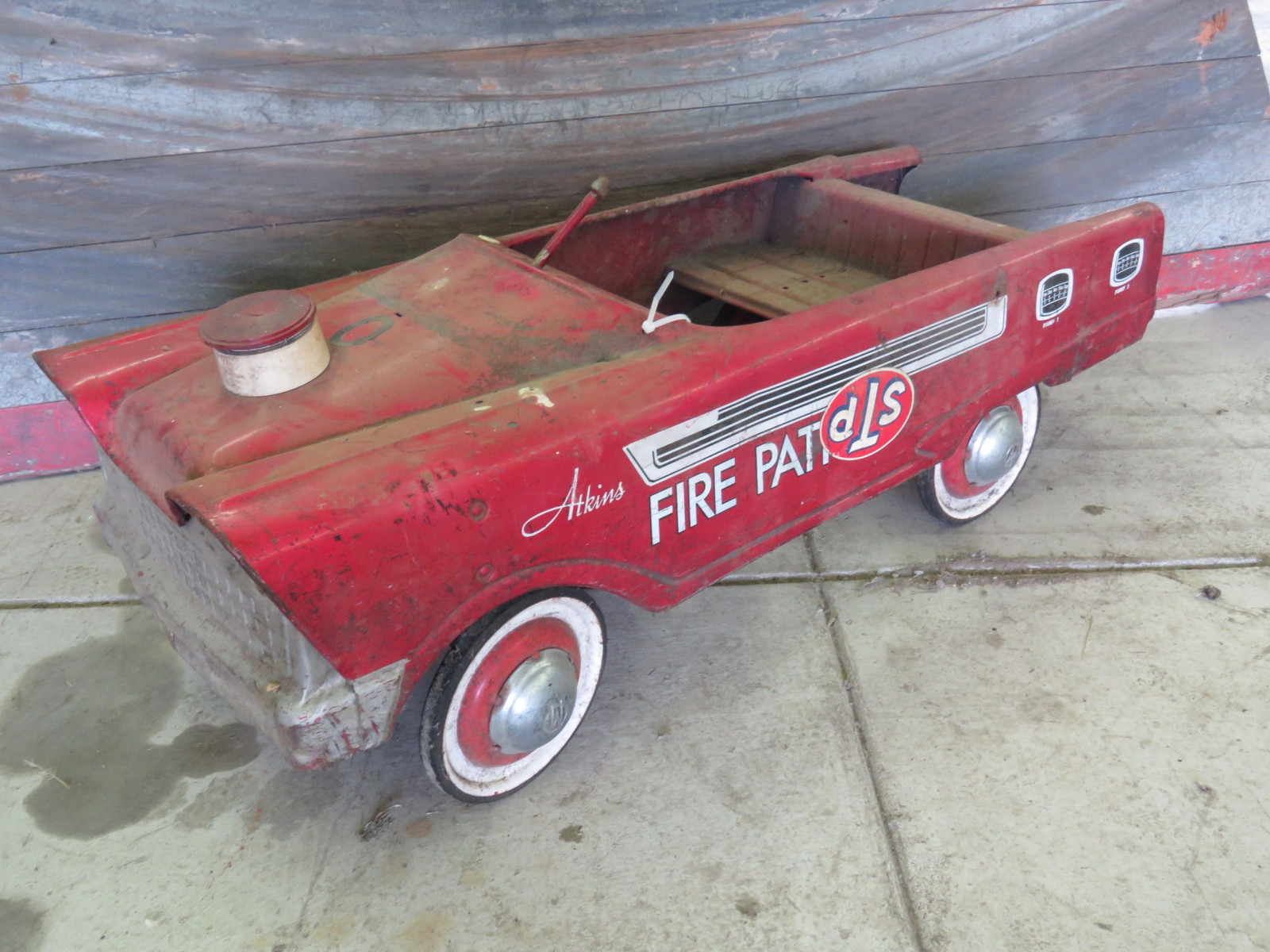 Murray Atkins Fire Chief Pedal Car for Restore - Image 1