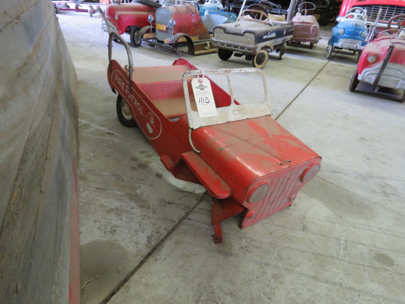 Murray Atkins Fire Chief Pedal Car for Restore - Image 2