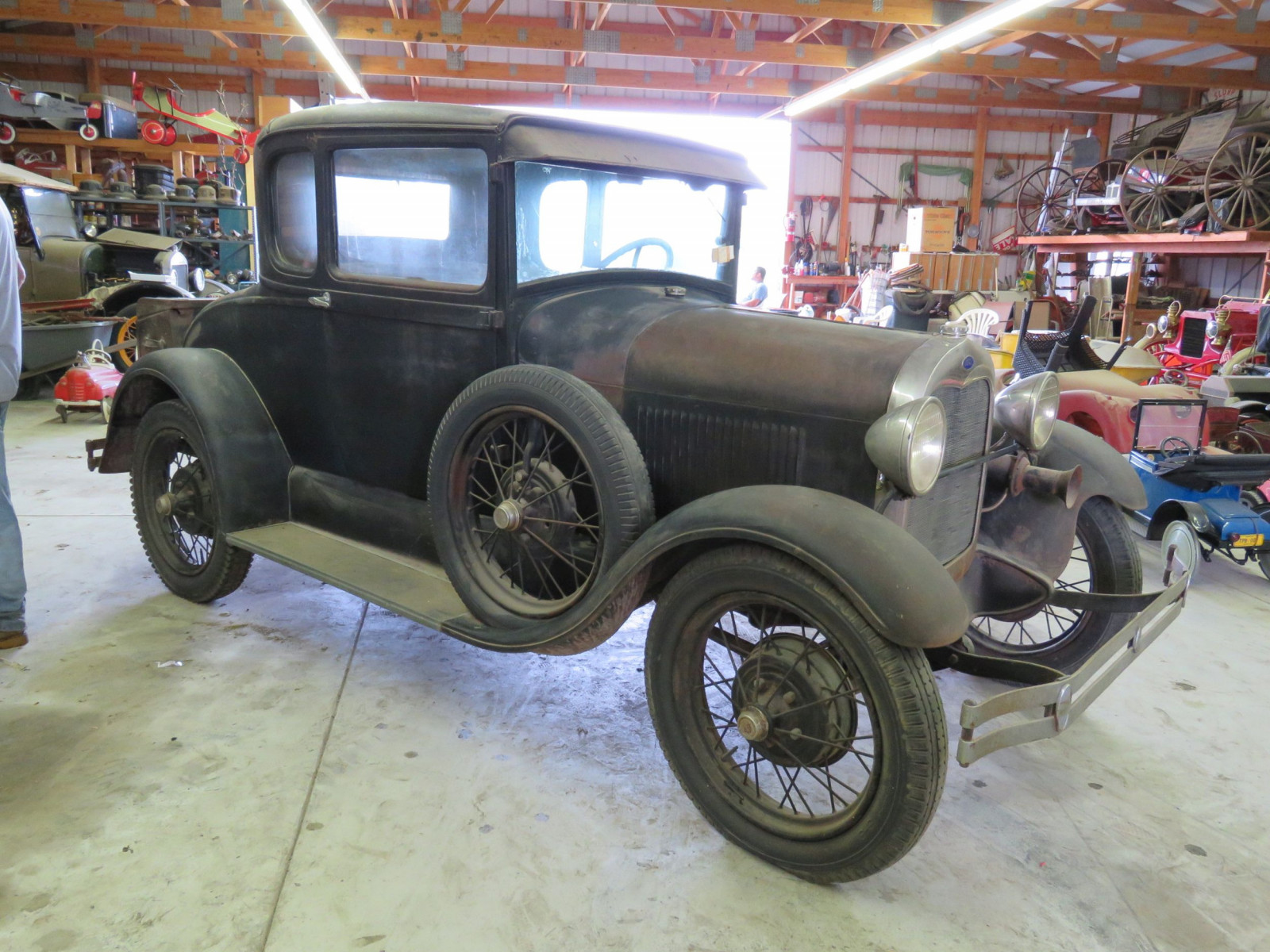 1929 Ford Model A 5 Window Coupe - Image 3