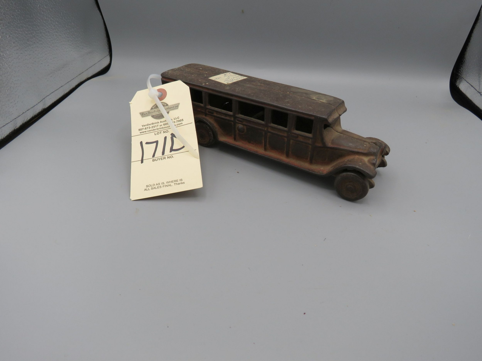 Friedag Manufacturing Company Cast Iron Bus @1920 Approx. 10 inches - Image 1