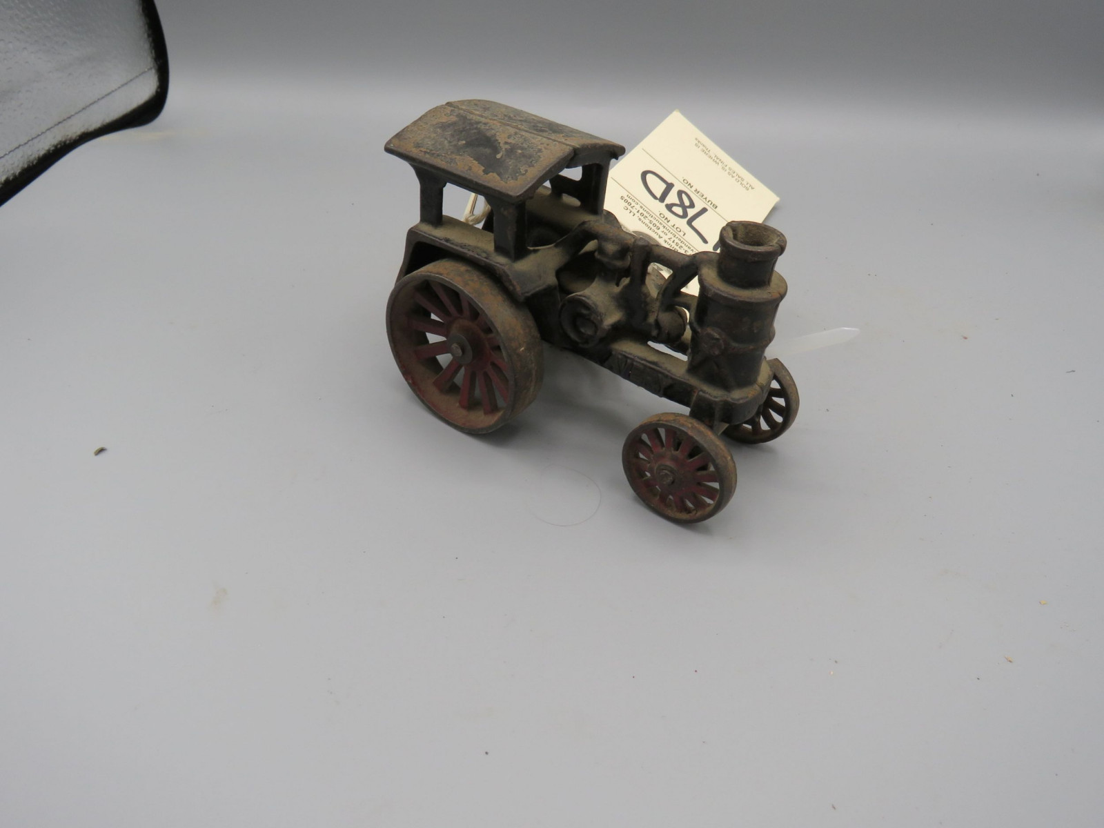 Arcade Cast Iron Fordson Tractor Approx. 4 inches inches - Image 2