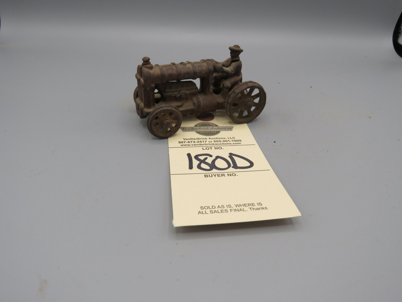 Arcade Cast Iron Fordson Tractor Approx. 4 inches inches - Image 1