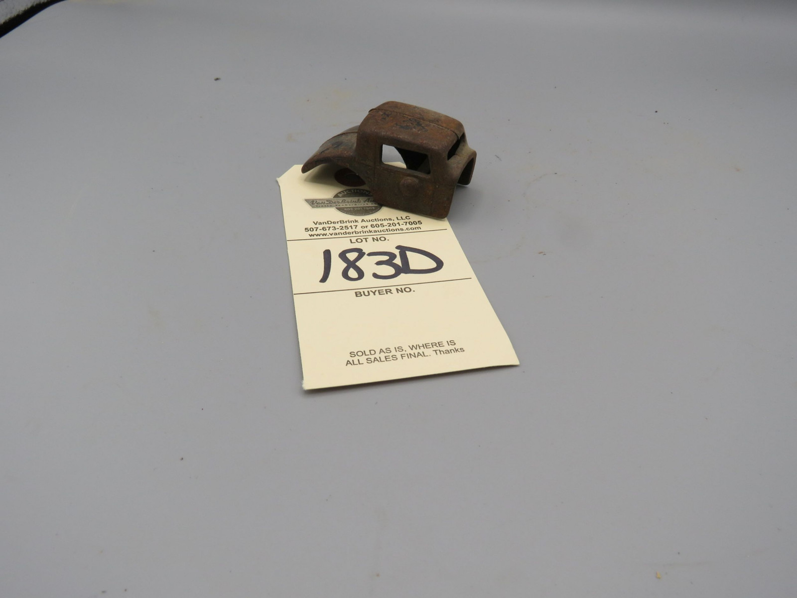 1932 Coupe Cast Iron Body Approx. 2.5 inches - Image 1
