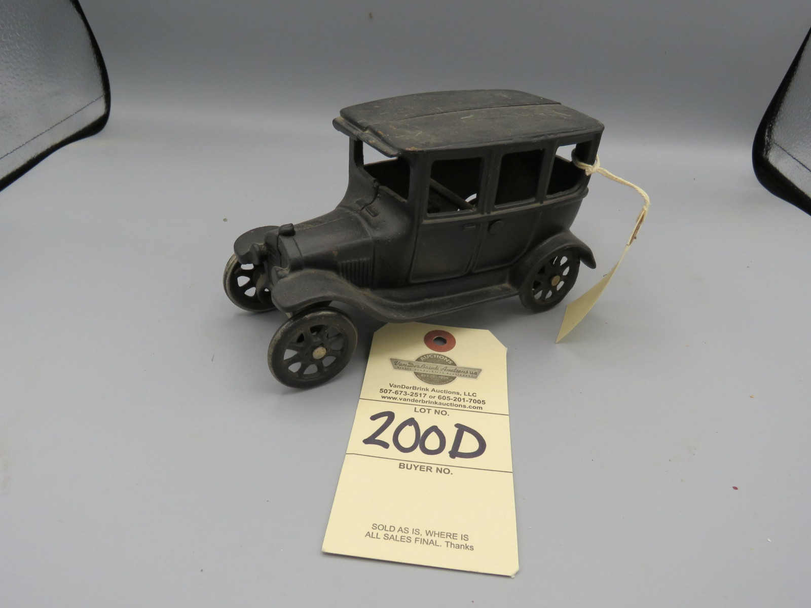 Arcade Cast Iron Ford Model T @1924 Approx. 6 inches - Image 1