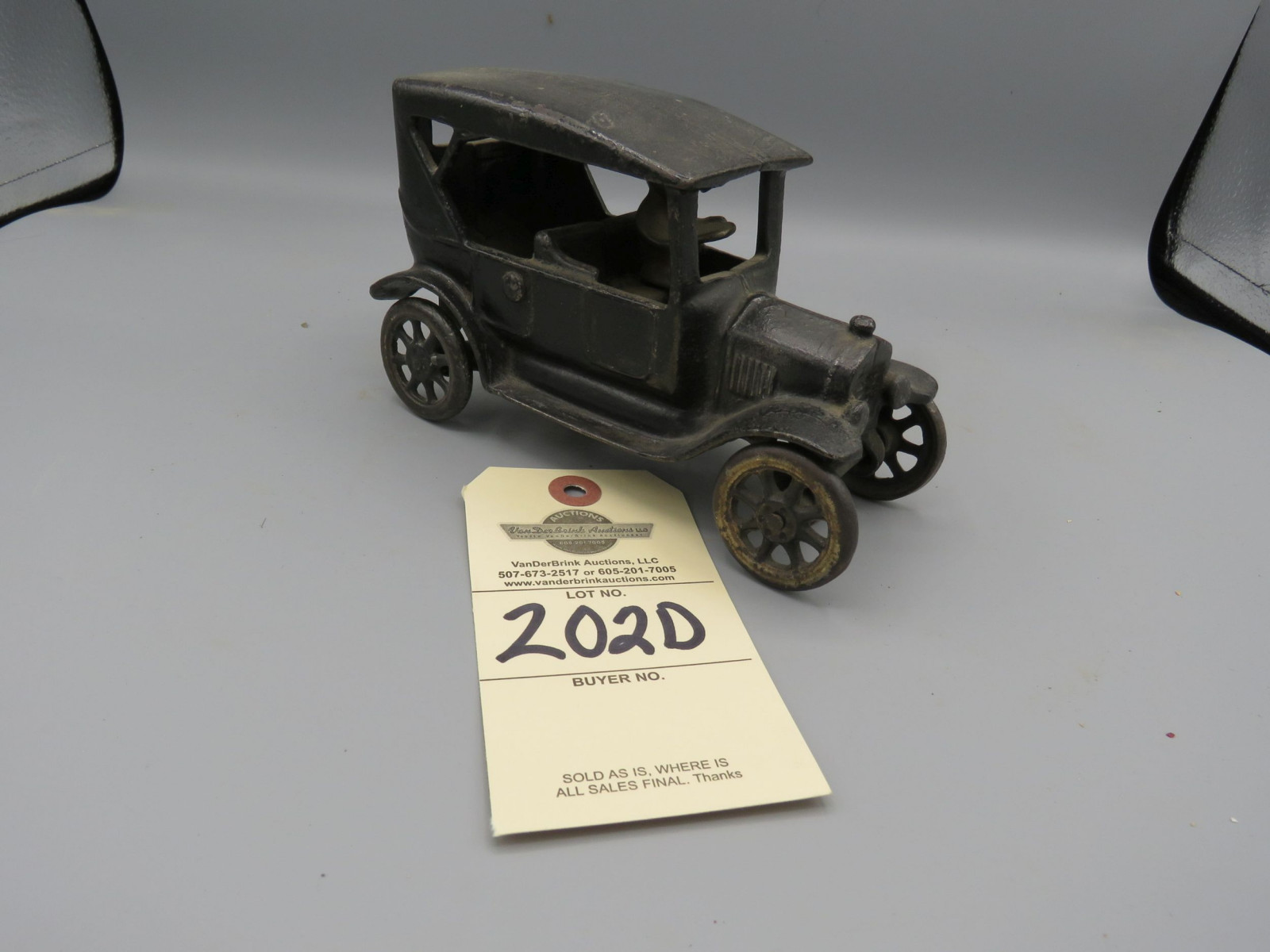 Arcade Cast Iron Chevrolet Superior Touring Car @1925 Approx. 7 inches - Image 2