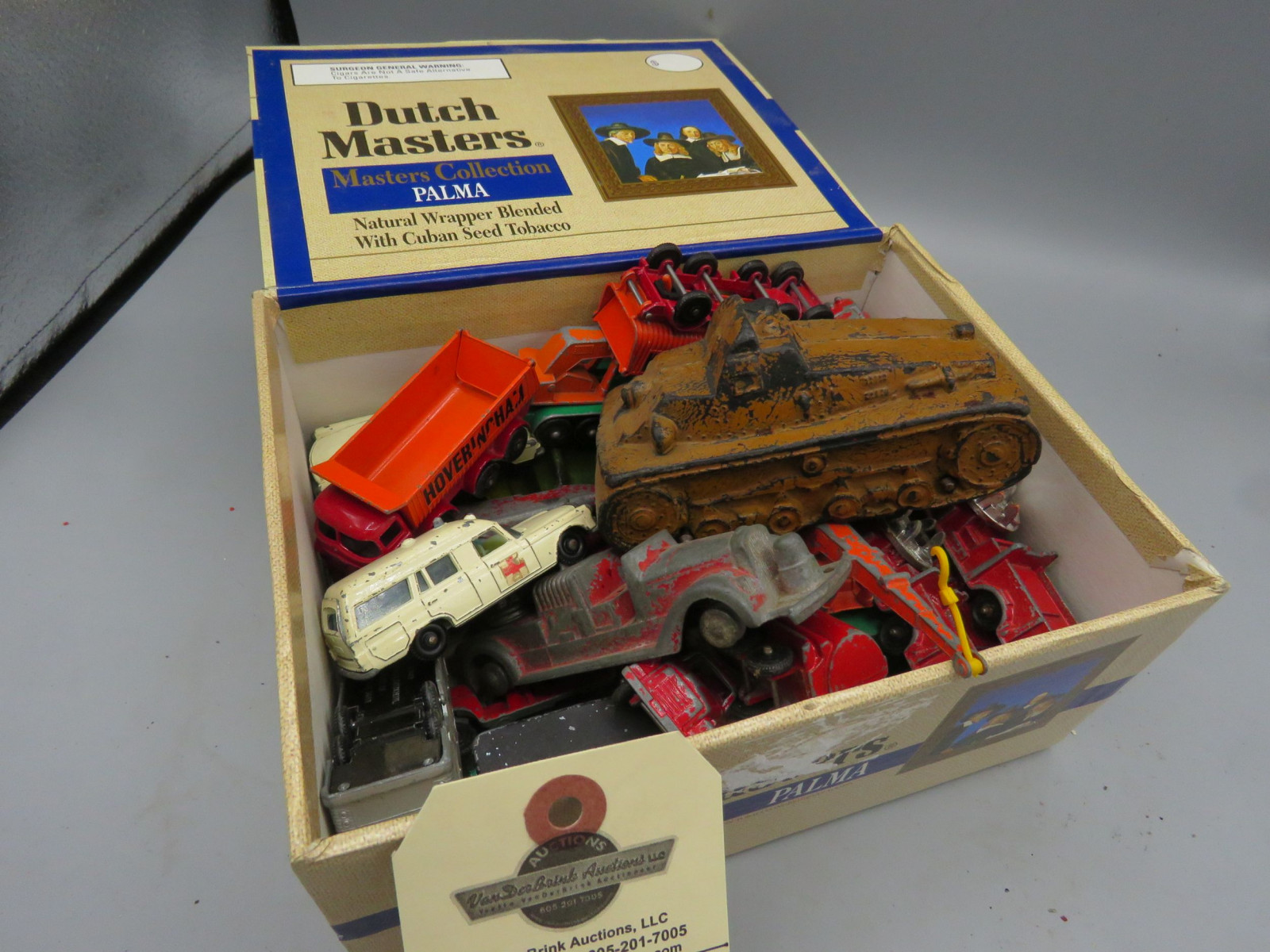 Dinkey and Matchbox Assorted Toy Cars and Toys - Image 2