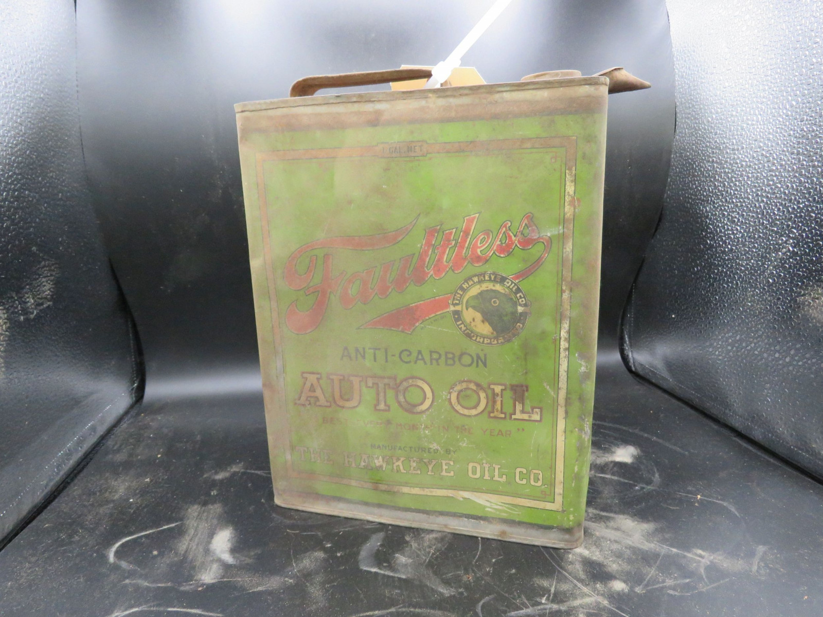 Faultless Auto Oil Can Empty - Image 1