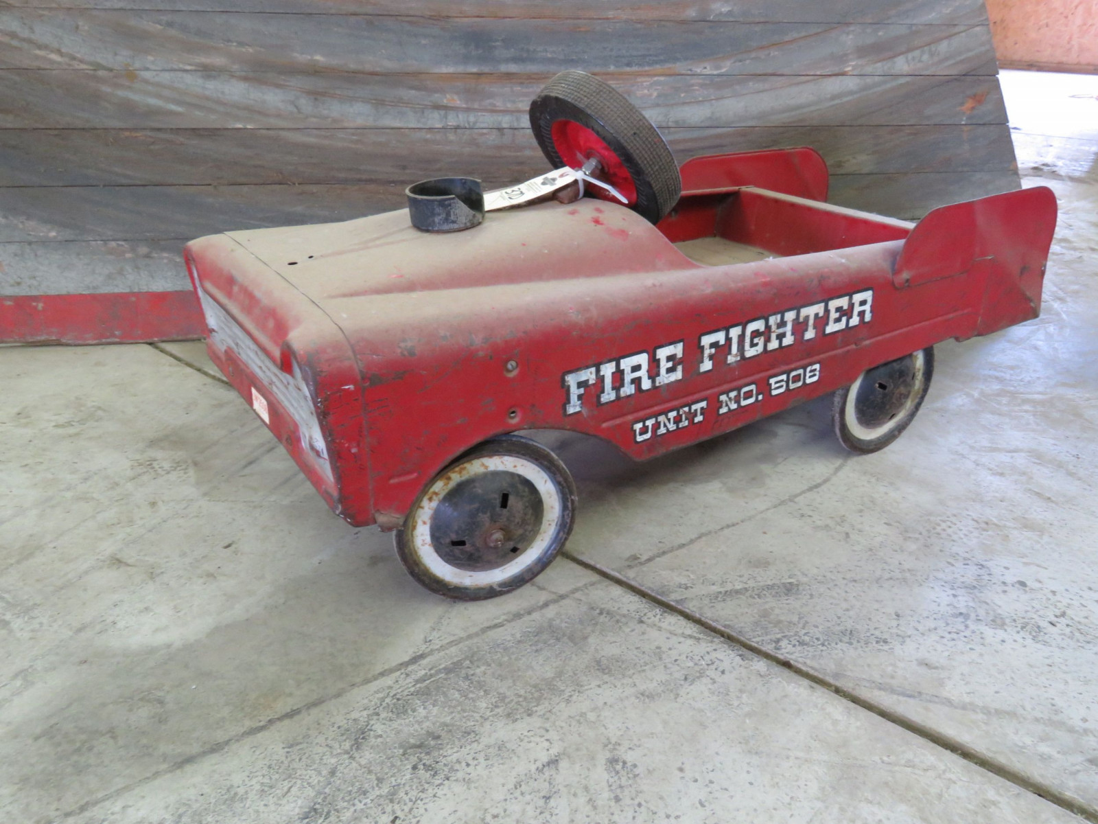 Steel craft Fire Fighter #508 Pedal Car - Image 1