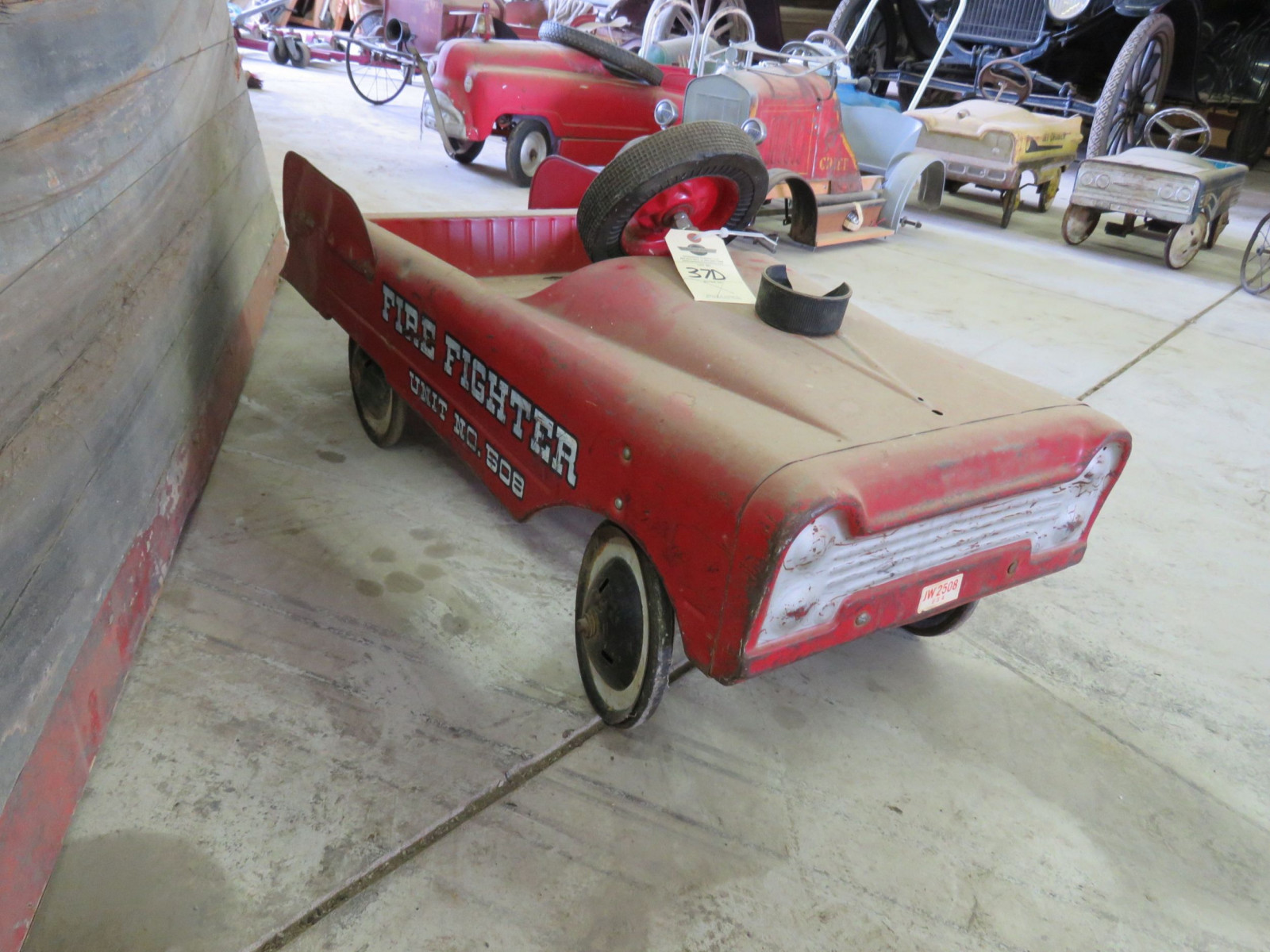Steel craft Fire Fighter #508 Pedal Car - Image 2