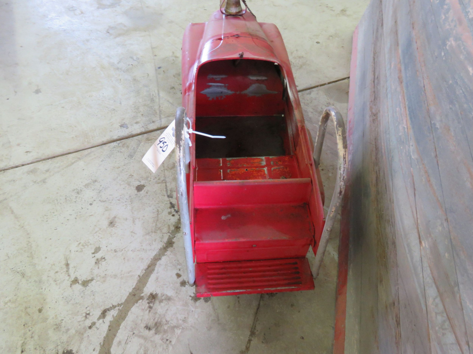 Murray Happy Time Fire Department Pedal Car - Image 3