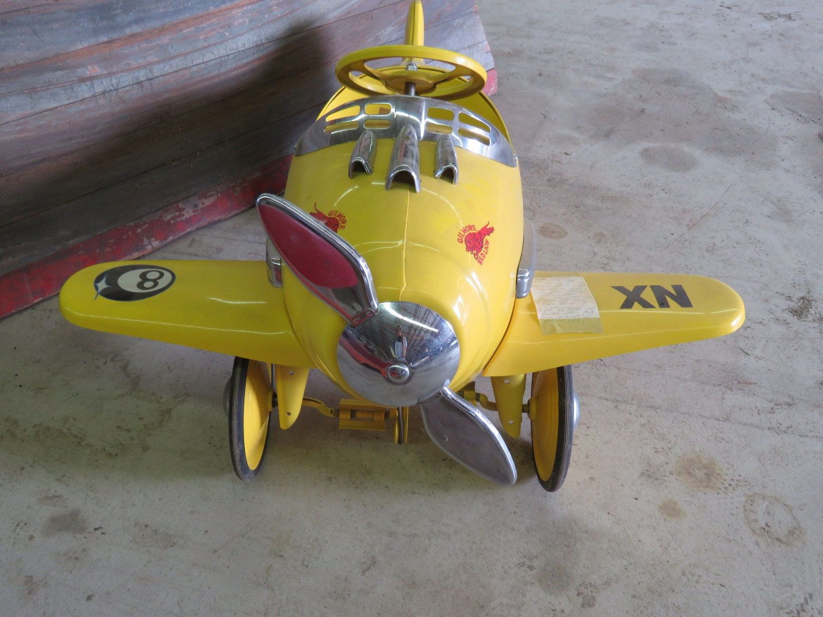 Reproduction Airplane Pedal Car - Image 2