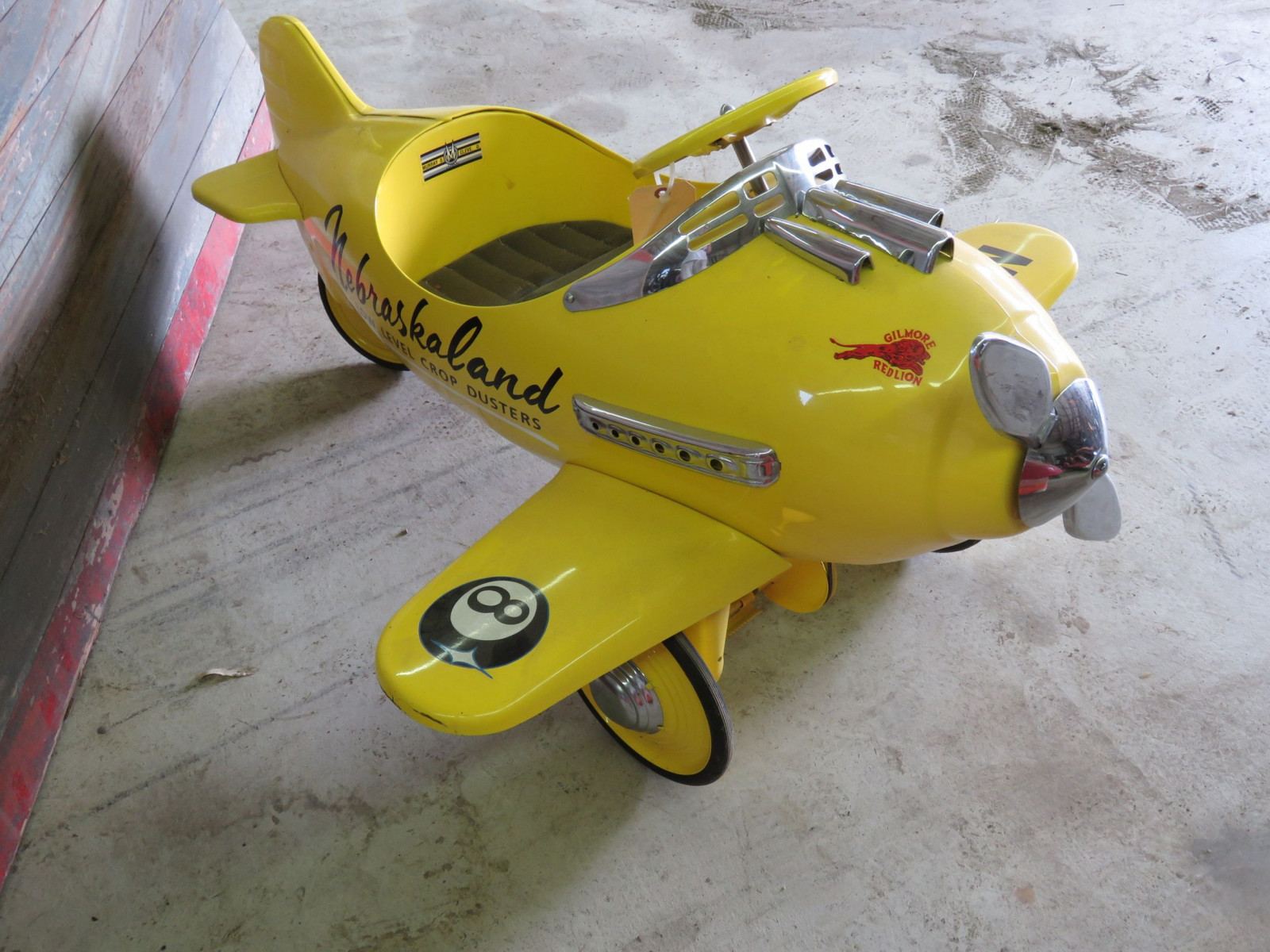 Reproduction Airplane Pedal Car - Image 3