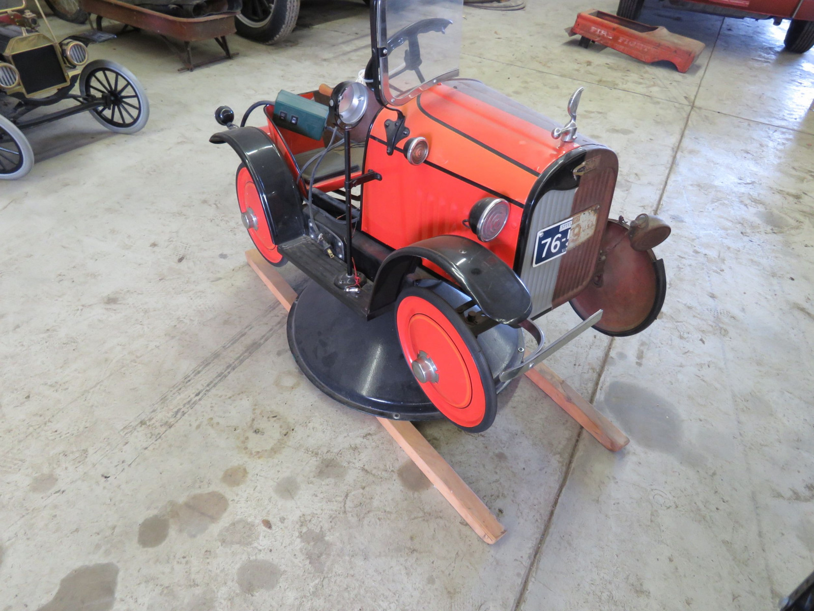 Vintage Steel Craft Pedal Car - Image 1