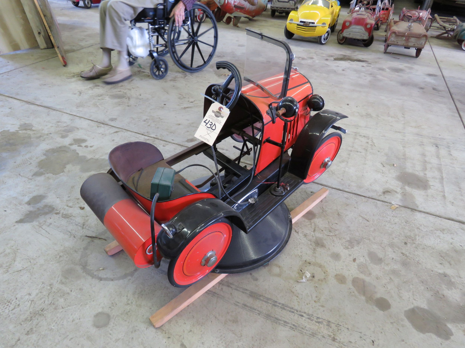Vintage Steel Craft Pedal Car - Image 4