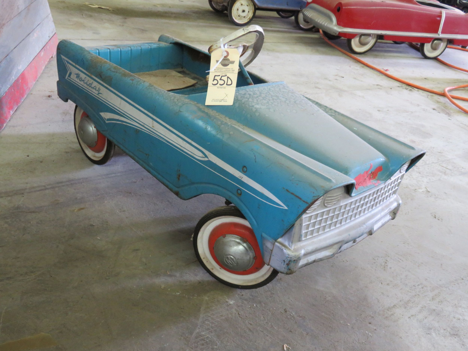 Vintage Murray Holiday Pedal Car - Image 3