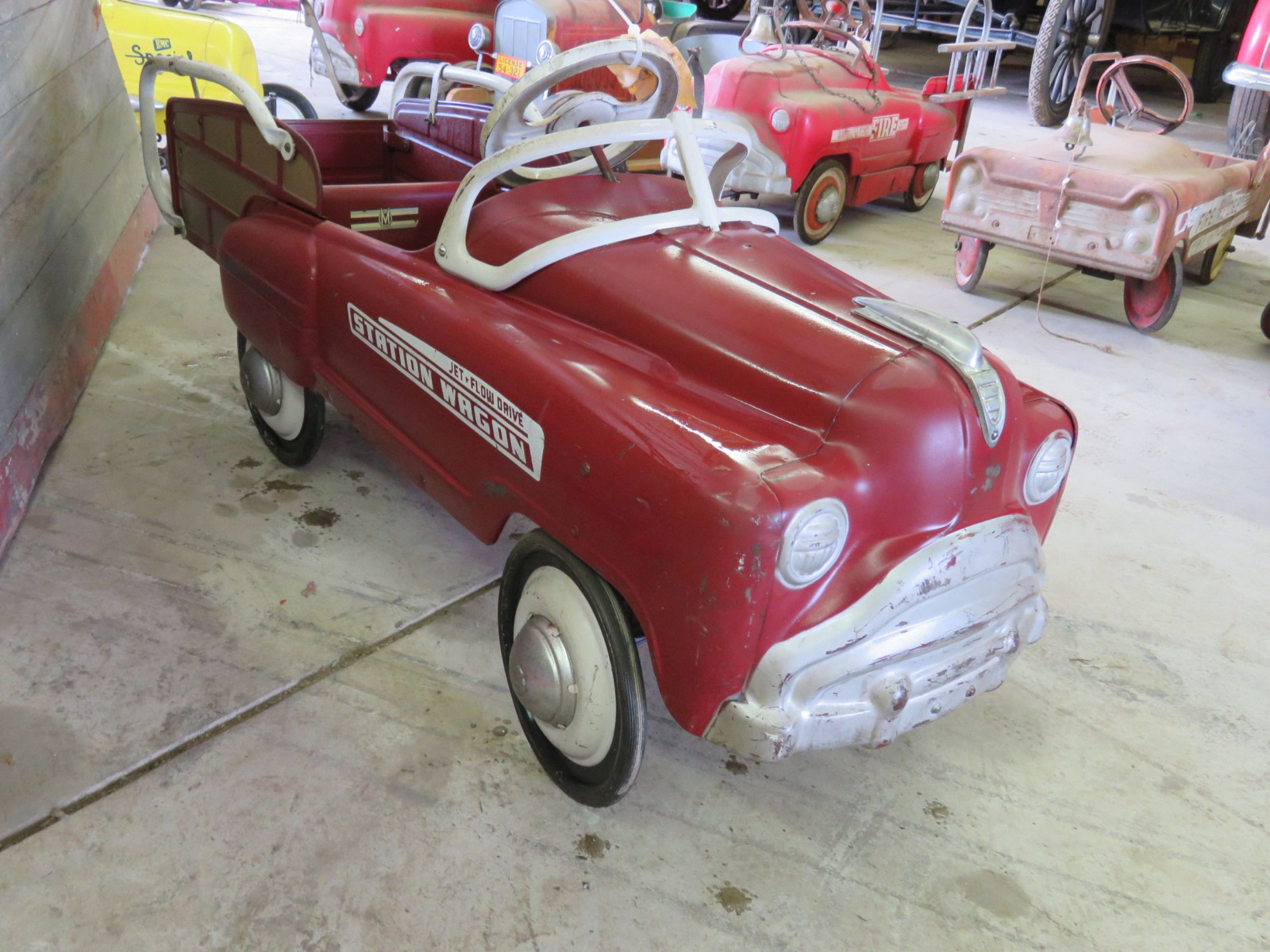 1955 Murray Station Wagon Pedal Car - Image 3