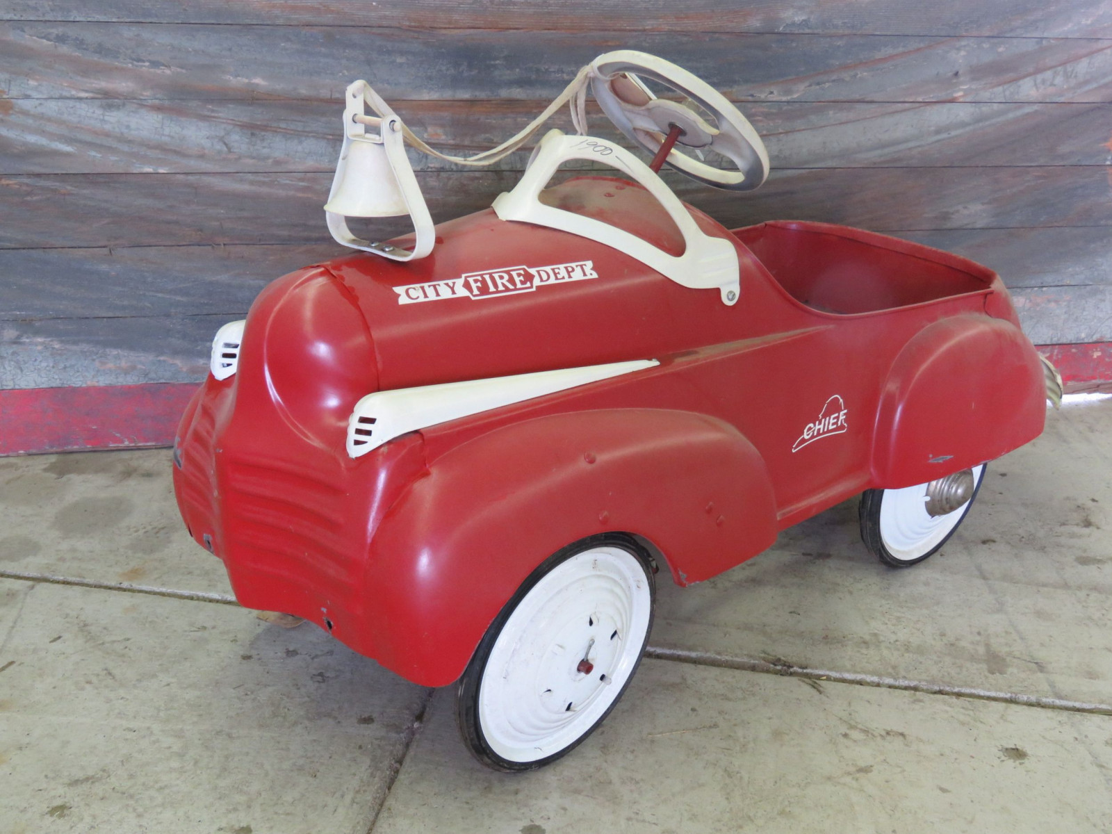 Steel craft City Chief Department Pedal Car - Image 1