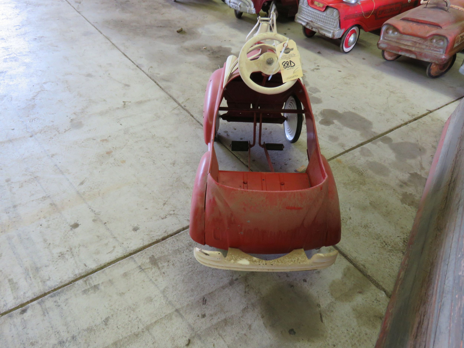Steel craft City Chief Department Pedal Car - Image 3