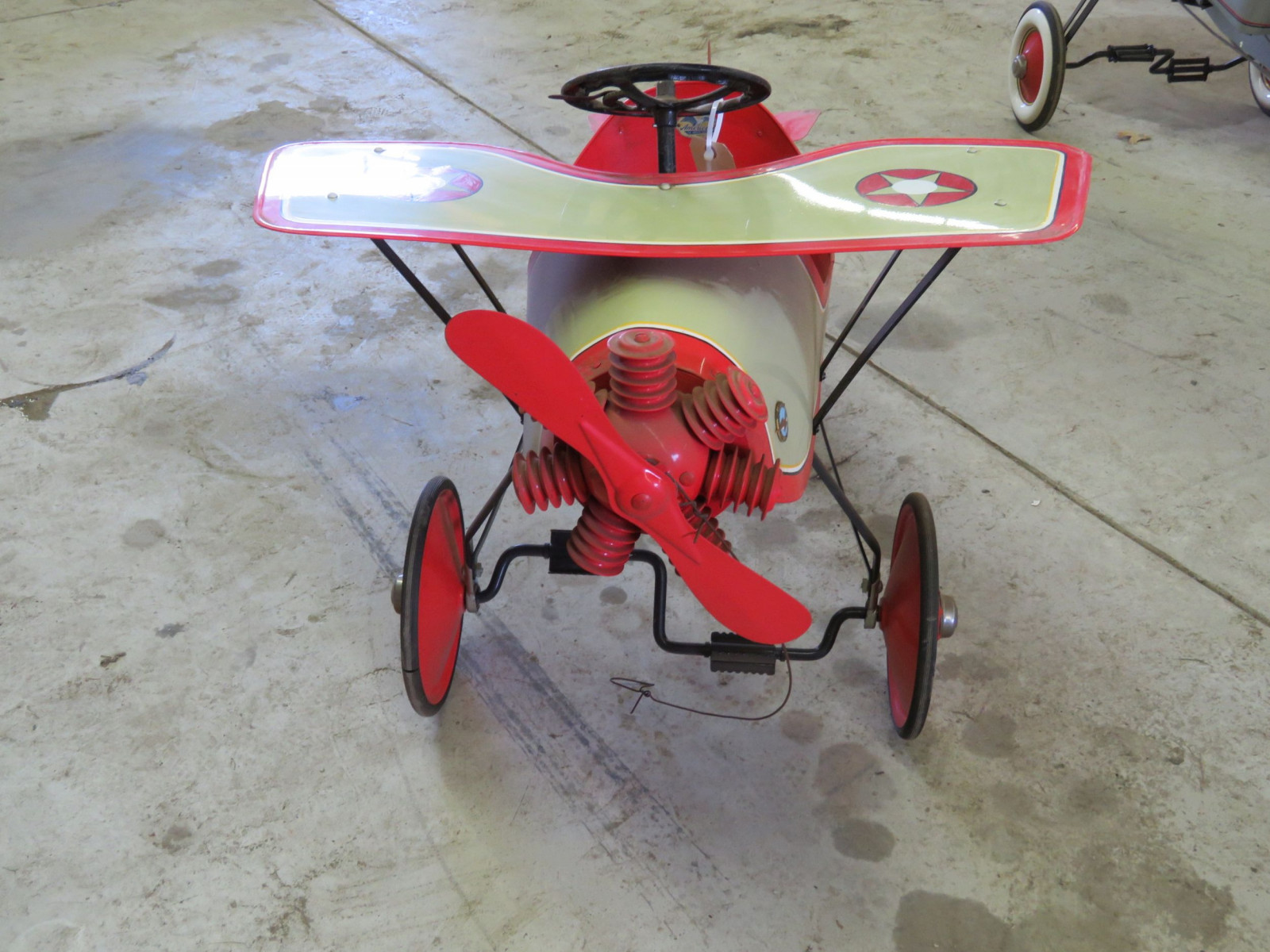 Homemade Spirit of St. Louis Pedal Airplane - Image 2