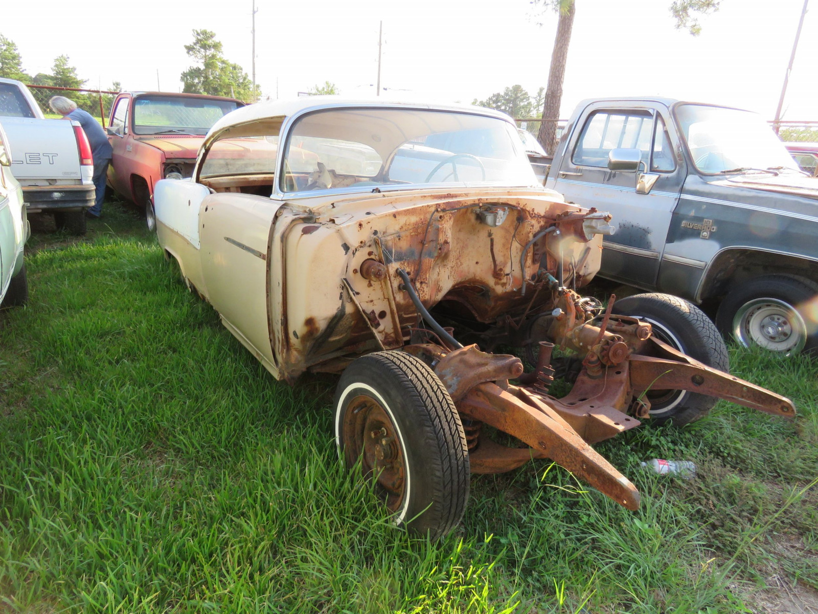 1955 Chevrolet for project - Image 2