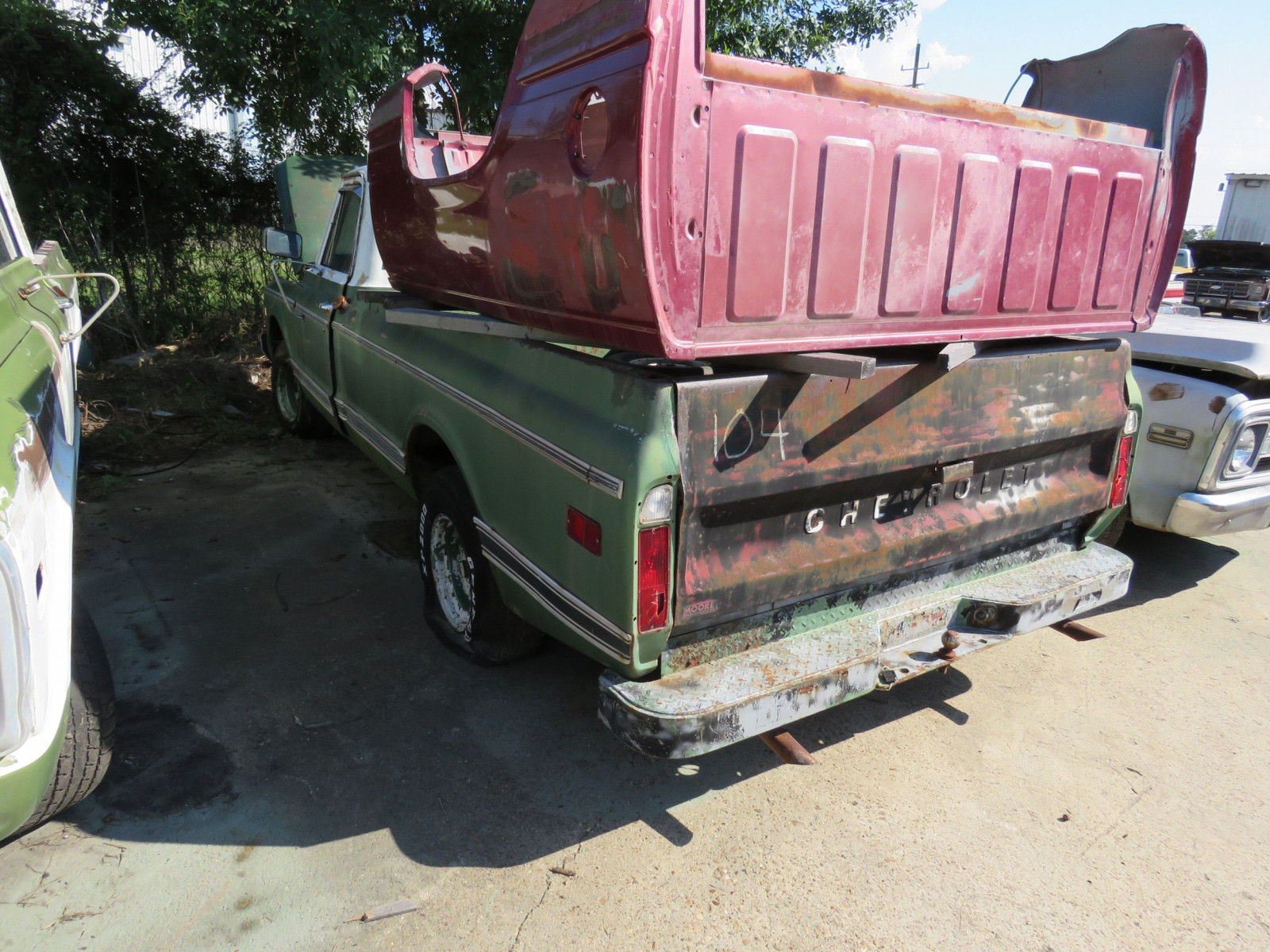 1970 Chevrolet C-10 Custom 1/2 ton Pickup - Image 3