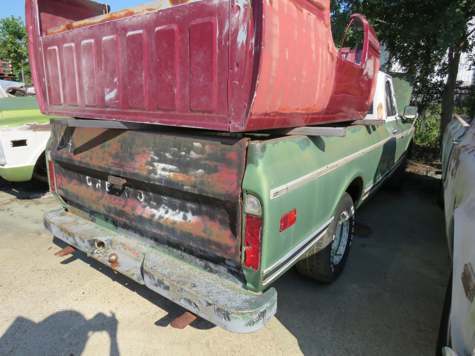 1970 Chevrolet C-10 Custom 1/2 ton Pickup - Image 4