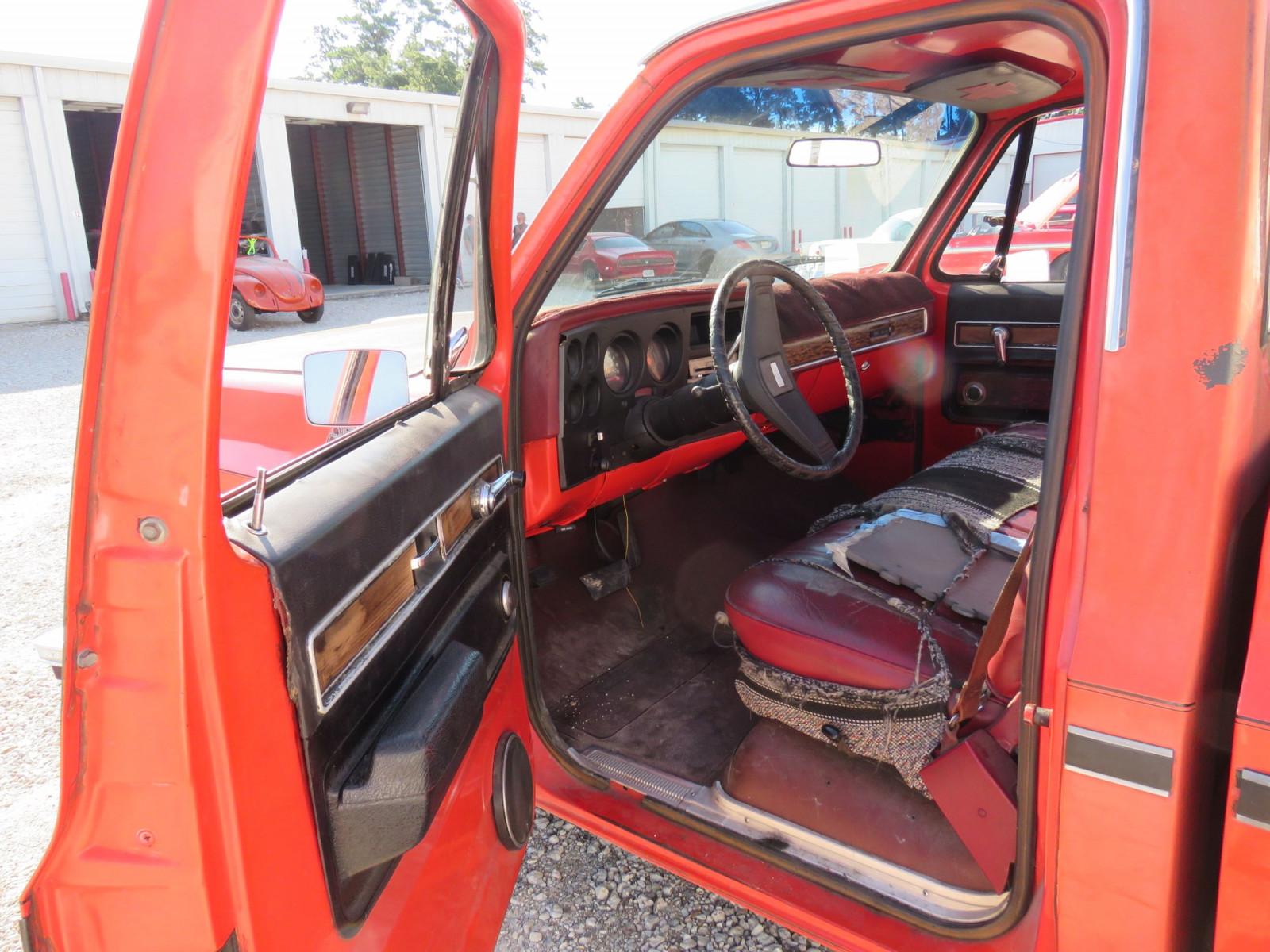 Lot 90tx94 1976 Gmc Sierra Grande 1 2 Ton Pickup Vanderbrink Chevy Truck Image 7